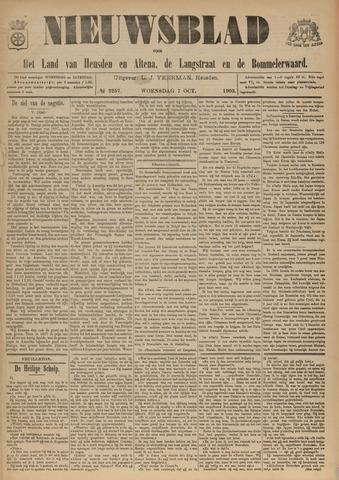 Nieuwsblad het land van Heusden en Altena de Langstraat en de Bommelerwaard 1903-10-07