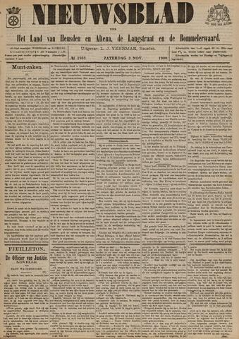 Nieuwsblad het land van Heusden en Altena de Langstraat en de Bommelerwaard 1900-11-03