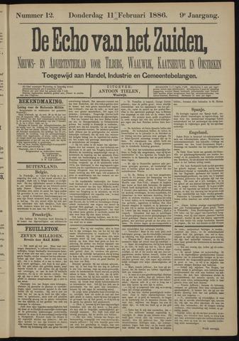 Echo van het Zuiden 1886-02-11