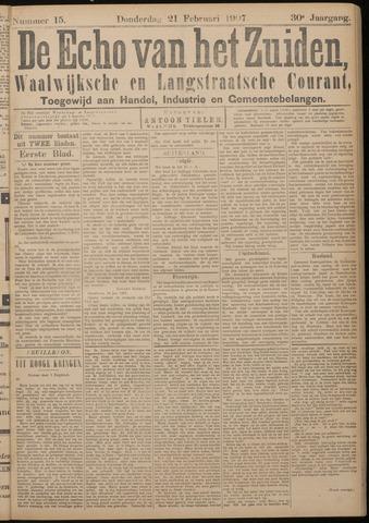 Echo van het Zuiden 1907-02-21