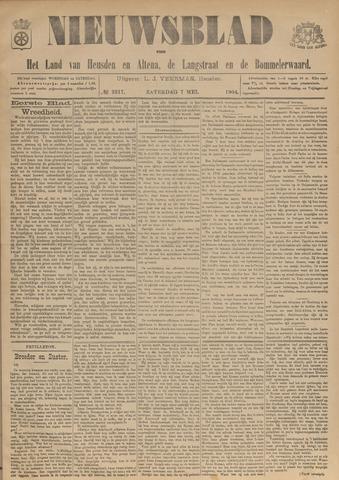 Nieuwsblad het land van Heusden en Altena de Langstraat en de Bommelerwaard 1904-05-07