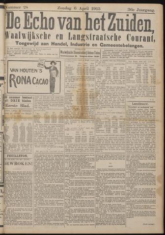 Echo van het Zuiden 1913-04-06