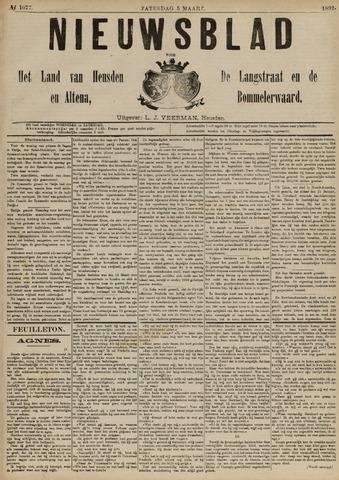 Nieuwsblad het land van Heusden en Altena de Langstraat en de Bommelerwaard 1892-03-05