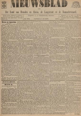 Nieuwsblad het land van Heusden en Altena de Langstraat en de Bommelerwaard 1897-09-18