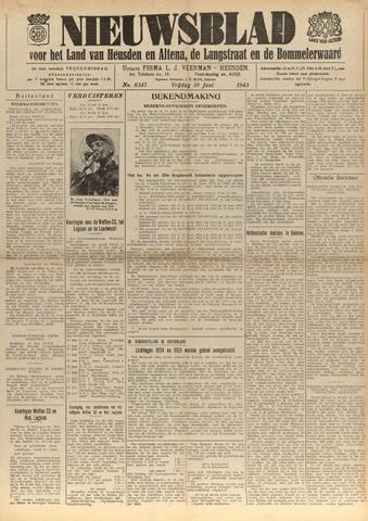 Nieuwsblad het land van Heusden en Altena de Langstraat en de Bommelerwaard 1943-06-18