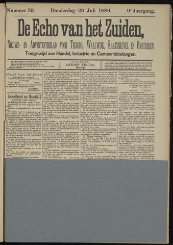Echo van het Zuiden 1886-07-29