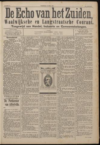 Echo van het Zuiden 1922-04-19