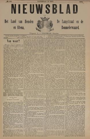 Nieuwsblad het land van Heusden en Altena de Langstraat en de Bommelerwaard 1888-05-12