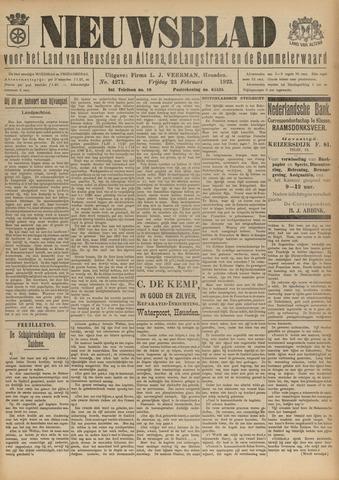 Nieuwsblad het land van Heusden en Altena de Langstraat en de Bommelerwaard 1923-02-23