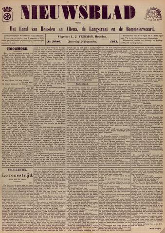Nieuwsblad het land van Heusden en Altena de Langstraat en de Bommelerwaard 1911-09-02