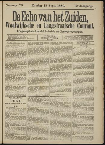 Echo van het Zuiden 1889-09-15
