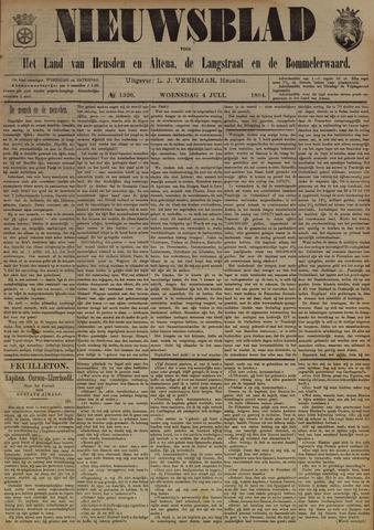 Nieuwsblad het land van Heusden en Altena de Langstraat en de Bommelerwaard 1894-07-04