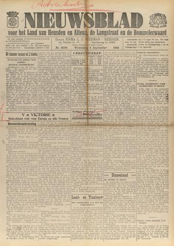 Nieuwsblad het land van Heusden en Altena de Langstraat en de Bommelerwaard 1941-09-03