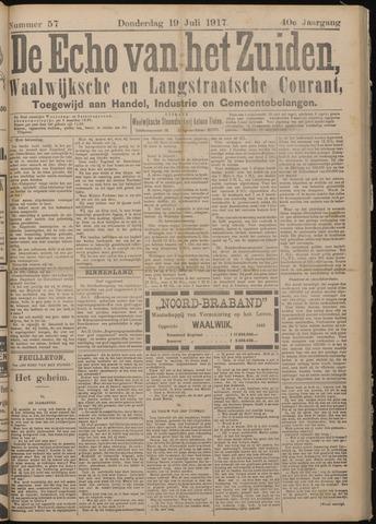 Echo van het Zuiden 1917-07-19