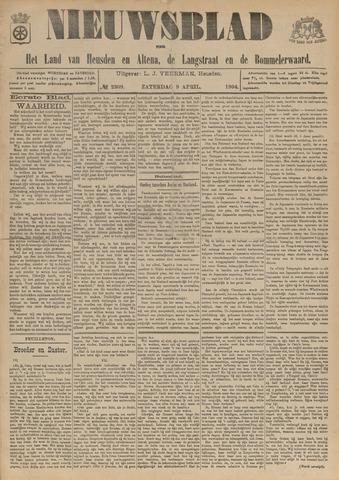 Nieuwsblad het land van Heusden en Altena de Langstraat en de Bommelerwaard 1904-04-09