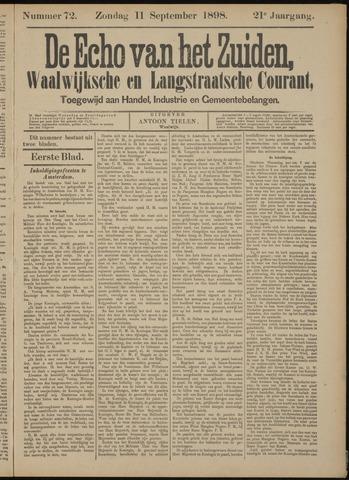 Echo van het Zuiden 1898-09-11
