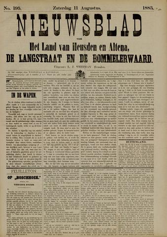 Nieuwsblad het land van Heusden en Altena de Langstraat en de Bommelerwaard 1883-08-11