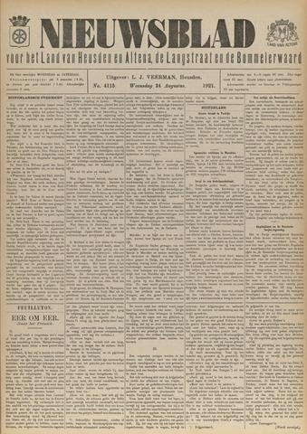 Nieuwsblad het land van Heusden en Altena de Langstraat en de Bommelerwaard 1921-08-24