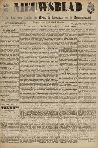Nieuwsblad het land van Heusden en Altena de Langstraat en de Bommelerwaard 1895-09-25