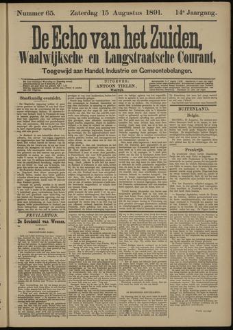 Echo van het Zuiden 1891-08-16