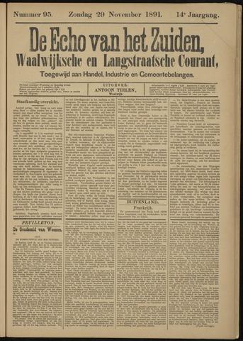 Echo van het Zuiden 1891-11-29