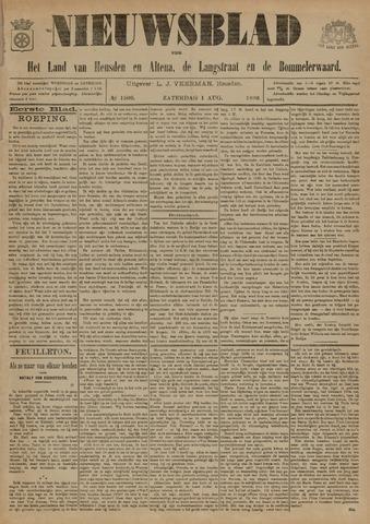 Nieuwsblad het land van Heusden en Altena de Langstraat en de Bommelerwaard 1896-08-01