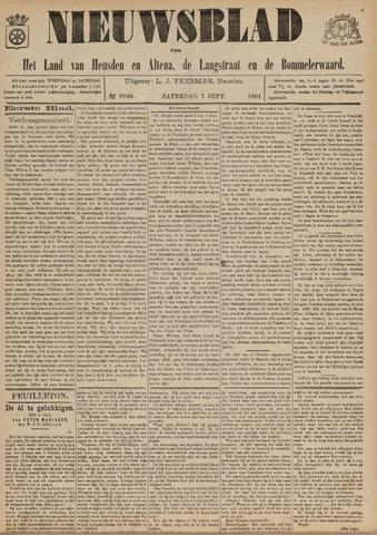Nieuwsblad het land van Heusden en Altena de Langstraat en de Bommelerwaard 1901-09-07