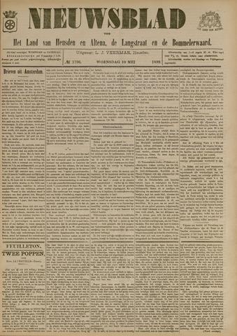 Nieuwsblad het land van Heusden en Altena de Langstraat en de Bommelerwaard 1899-05-10