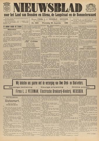 Nieuwsblad het land van Heusden en Altena de Langstraat en de Bommelerwaard 1932-08-24