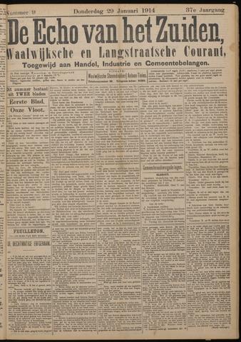 Echo van het Zuiden 1914-01-29