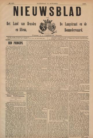 Nieuwsblad het land van Heusden en Altena de Langstraat en de Bommelerwaard 1887-10-15
