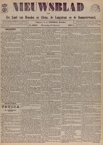 Nieuwsblad het land van Heusden en Altena de Langstraat en de Bommelerwaard 1911-01-11