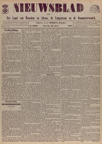 Nieuwsblad het land van Heusden en Altena de Langstraat en de Bommelerwaard 1911-04-22