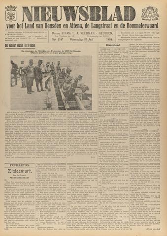 Nieuwsblad het land van Heusden en Altena de Langstraat en de Bommelerwaard 1932-07-27