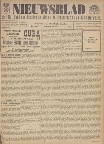 Nieuwsblad het land van Heusden en Altena de Langstraat en de Bommelerwaard 1917-07-28