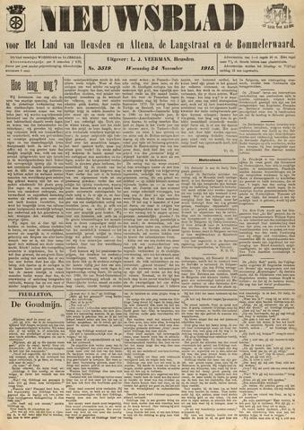 Nieuwsblad het land van Heusden en Altena de Langstraat en de Bommelerwaard 1915-11-24