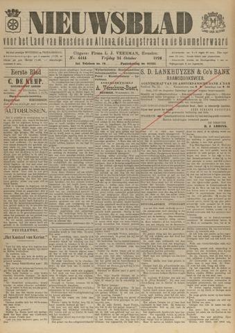 Nieuwsblad het land van Heusden en Altena de Langstraat en de Bommelerwaard 1924-10-24