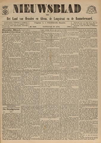 Nieuwsblad het land van Heusden en Altena de Langstraat en de Bommelerwaard 1903-08-29
