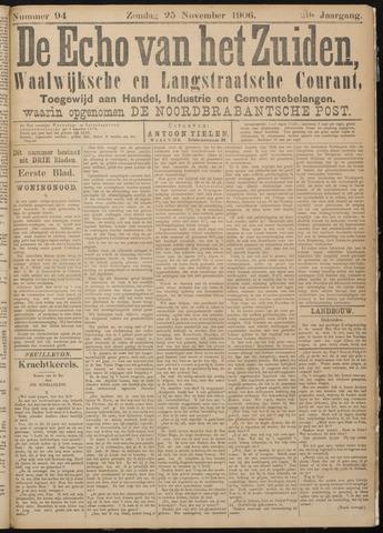 Echo van het Zuiden 1906-11-25