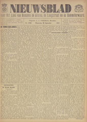 Nieuwsblad het land van Heusden en Altena de Langstraat en de Bommelerwaard 1917-09-26