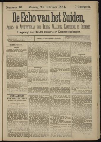 Echo van het Zuiden 1884-02-24