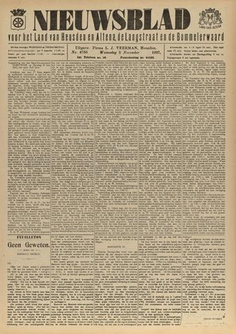 Nieuwsblad het land van Heusden en Altena de Langstraat en de Bommelerwaard 1927-11-02