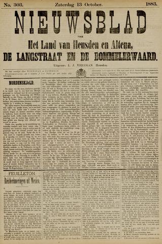 Nieuwsblad het land van Heusden en Altena de Langstraat en de Bommelerwaard 1883-10-13