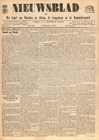 Nieuwsblad het land van Heusden en Altena de Langstraat en de Bommelerwaard 1904-10-08