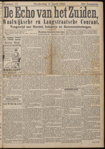 Echo van het Zuiden 1913-04-03