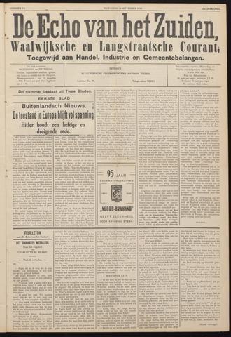 Echo van het Zuiden 1938-09-14