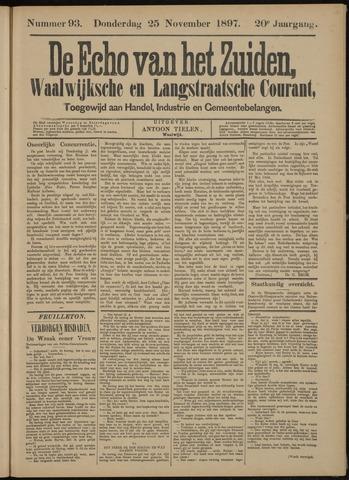 Echo van het Zuiden 1897-11-28