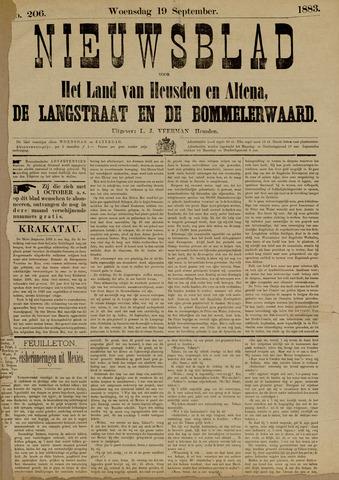 Nieuwsblad het land van Heusden en Altena de Langstraat en de Bommelerwaard 1883-09-19