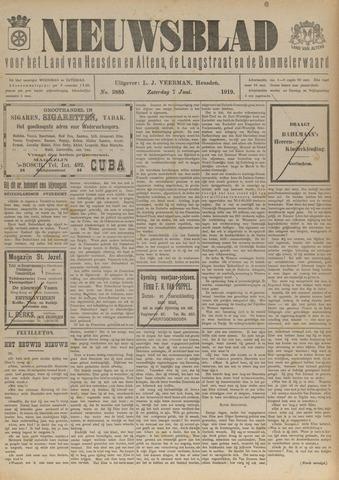 Nieuwsblad het land van Heusden en Altena de Langstraat en de Bommelerwaard 1919-06-07