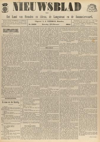 Nieuwsblad het land van Heusden en Altena de Langstraat en de Bommelerwaard 1915-02-13